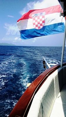 Loď Aloha - záď lodi
