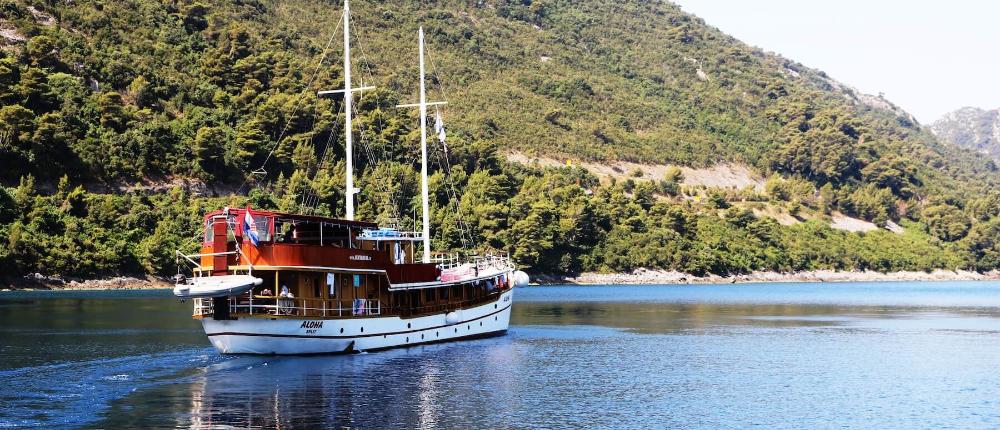 Na lodi a na kole nebo relax po ostrovech Dalmácie